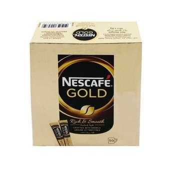 قهوه فوری نسکافه بسته 50 عددی