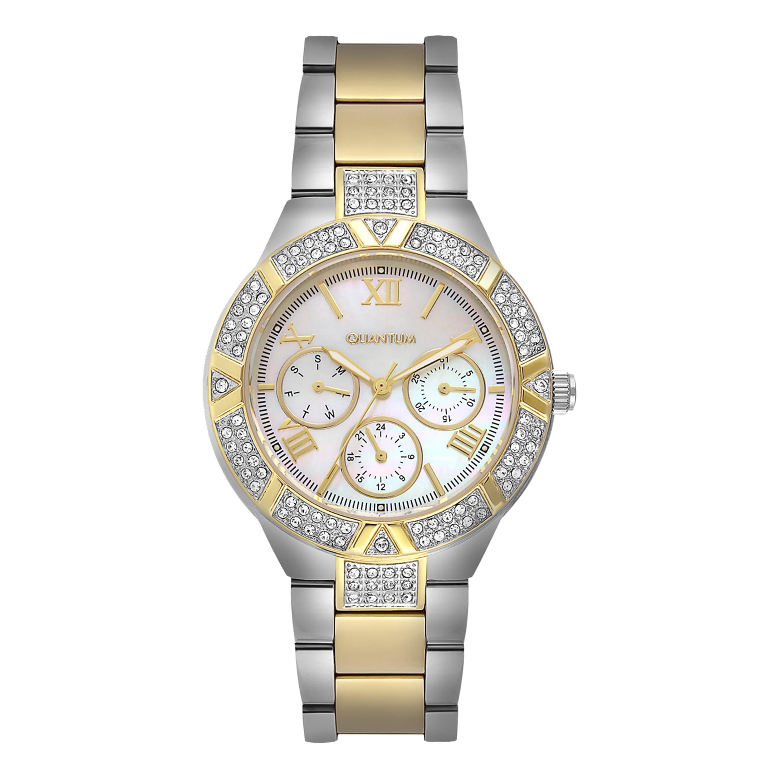 ساعت مچی عقربه ای زنانه کوانتوم کد IML394.220