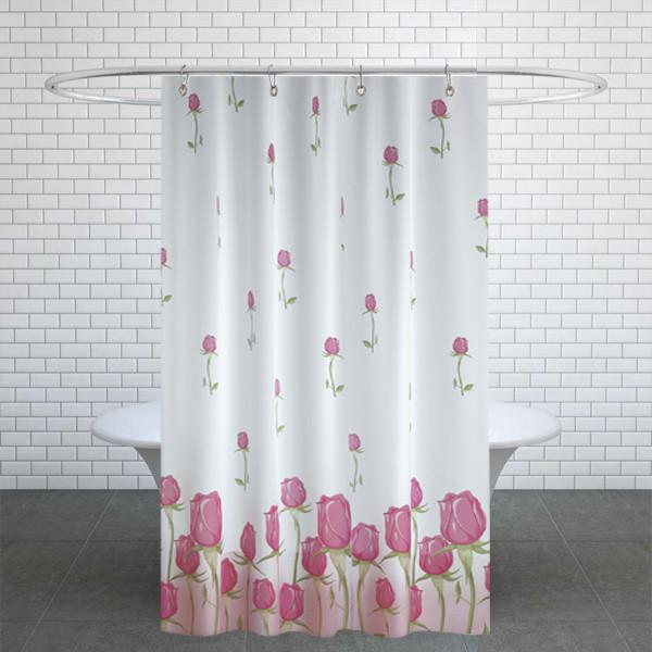 پرده حمام دلفین کد jack-7017 سایز 200×180 سانتی متر