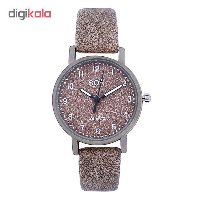 ساعت مچی عقربه ای زنانه سوک مدل  K 555 - G              خرید (⭐️⭐️⭐️)