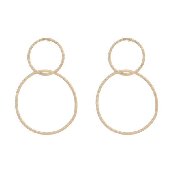 گوشواره طلا 18 عیار زنانه گالری گیرا کد 1009
