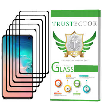 محافظ صفحه نمایش تراستکتور مدل GSS مناسب برای گوشی موبایل سامسونگ Galaxy S10e بسته 5 عددی