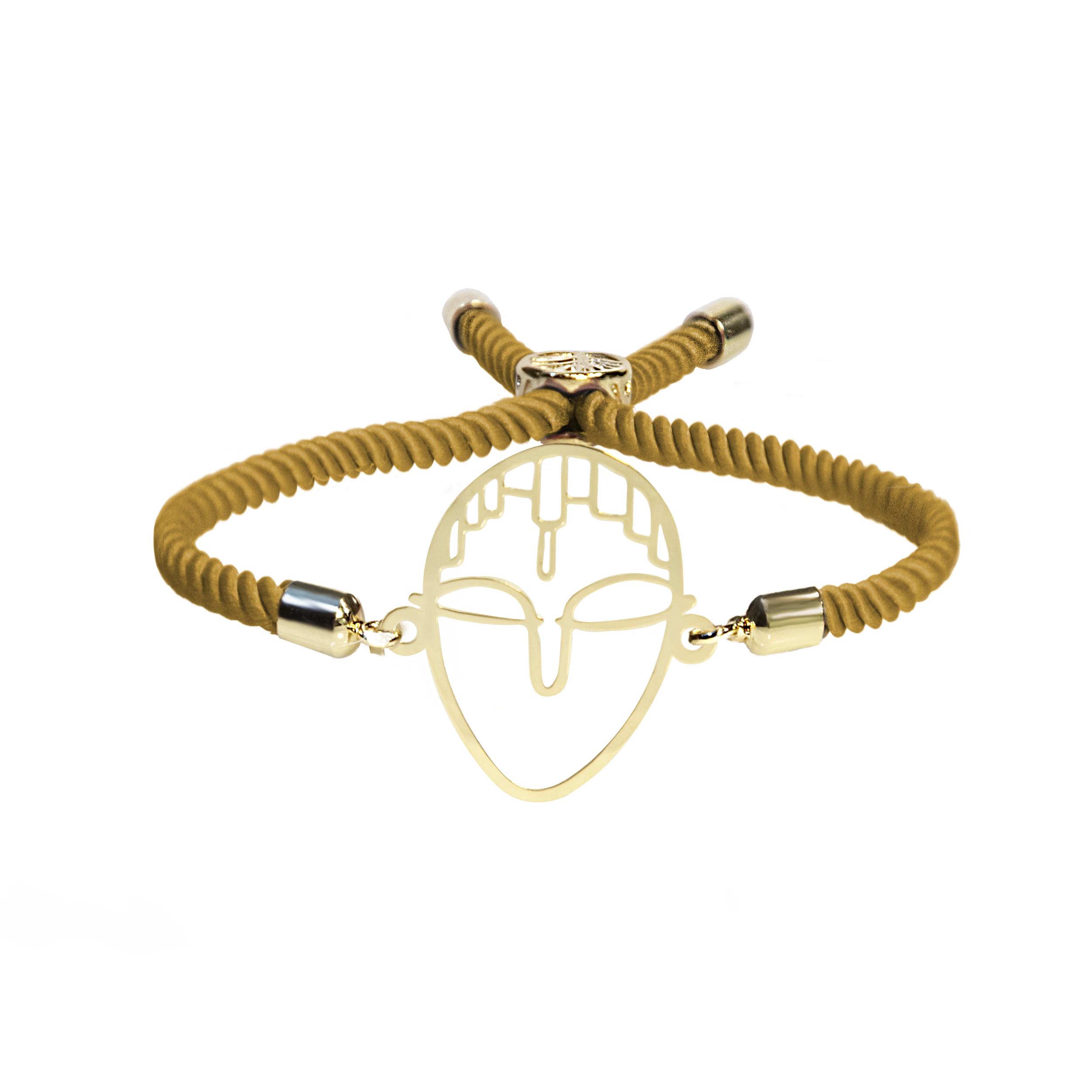 دستبند طلا 18 عیار زنانه اَبستره کد DN001