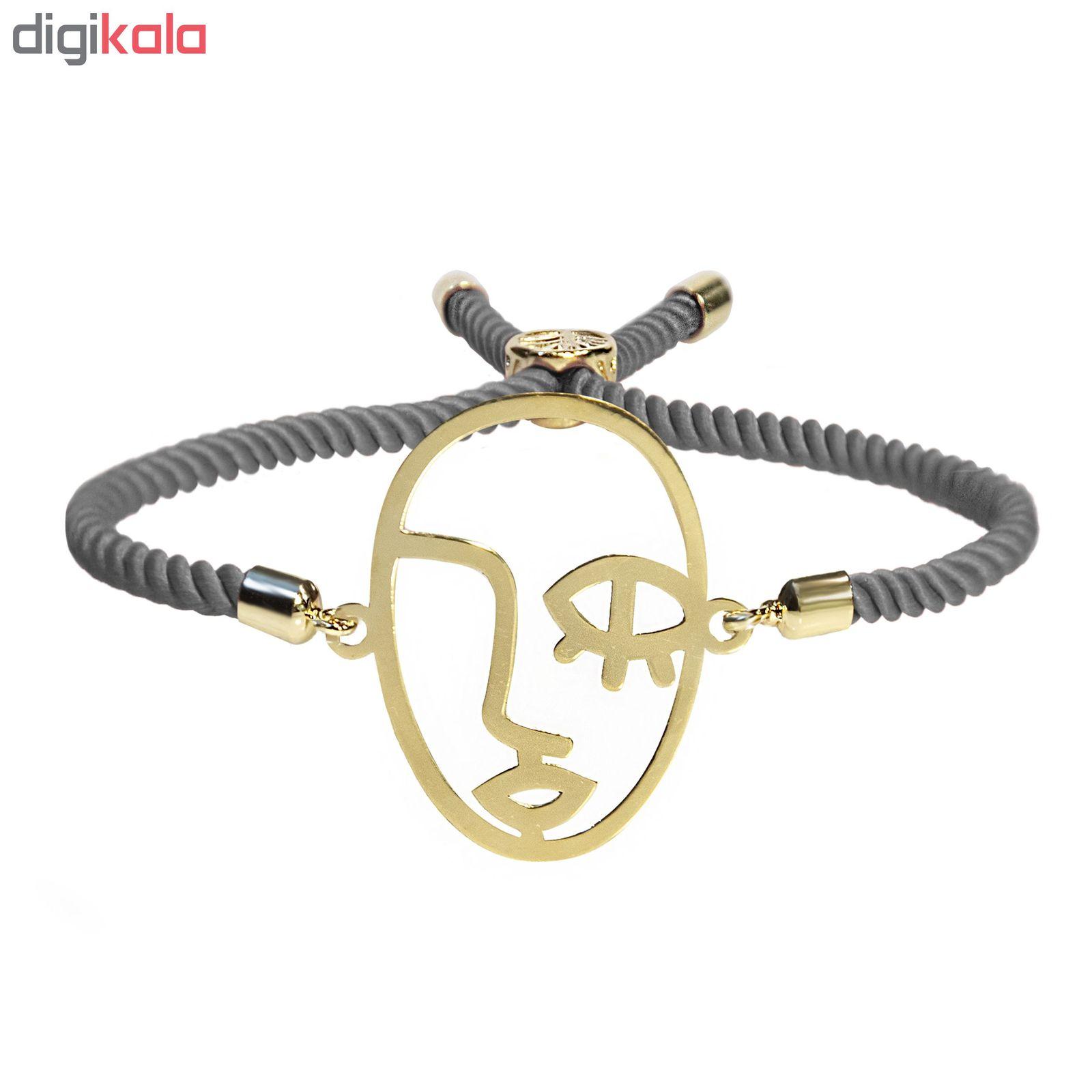 دستبند طلا 18 عیار زنانه اَبستره کد DCH001 -  - 3