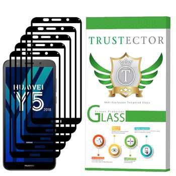 محافظ صفحه نمایش تراستکتور مدل GSS مناسب برای گوشی موبایل هوآوی Y5 Prime 2018 بسته 5 عددی