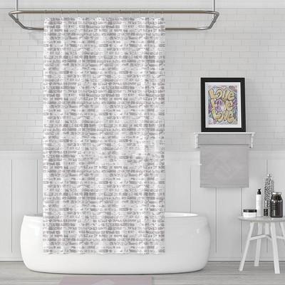 پرده حمام دلفین کد jack-1406 سایز 200×180 سانتی متر