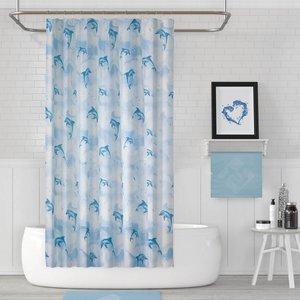 پرده حمام دلفین کد jack-5875 سایز 200×180 سانتی متر