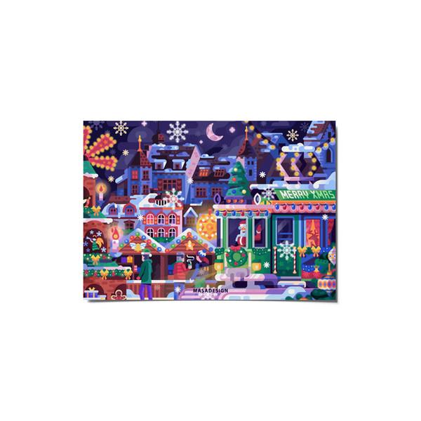 کارت پستال ماسا دیزاین طرح کریسمس کد postv146