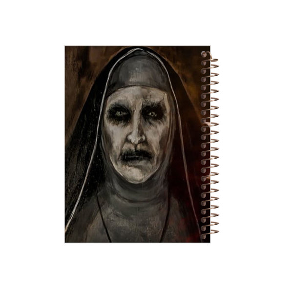 دفتر یادداشت مجنتا طرح راهبه کد 55