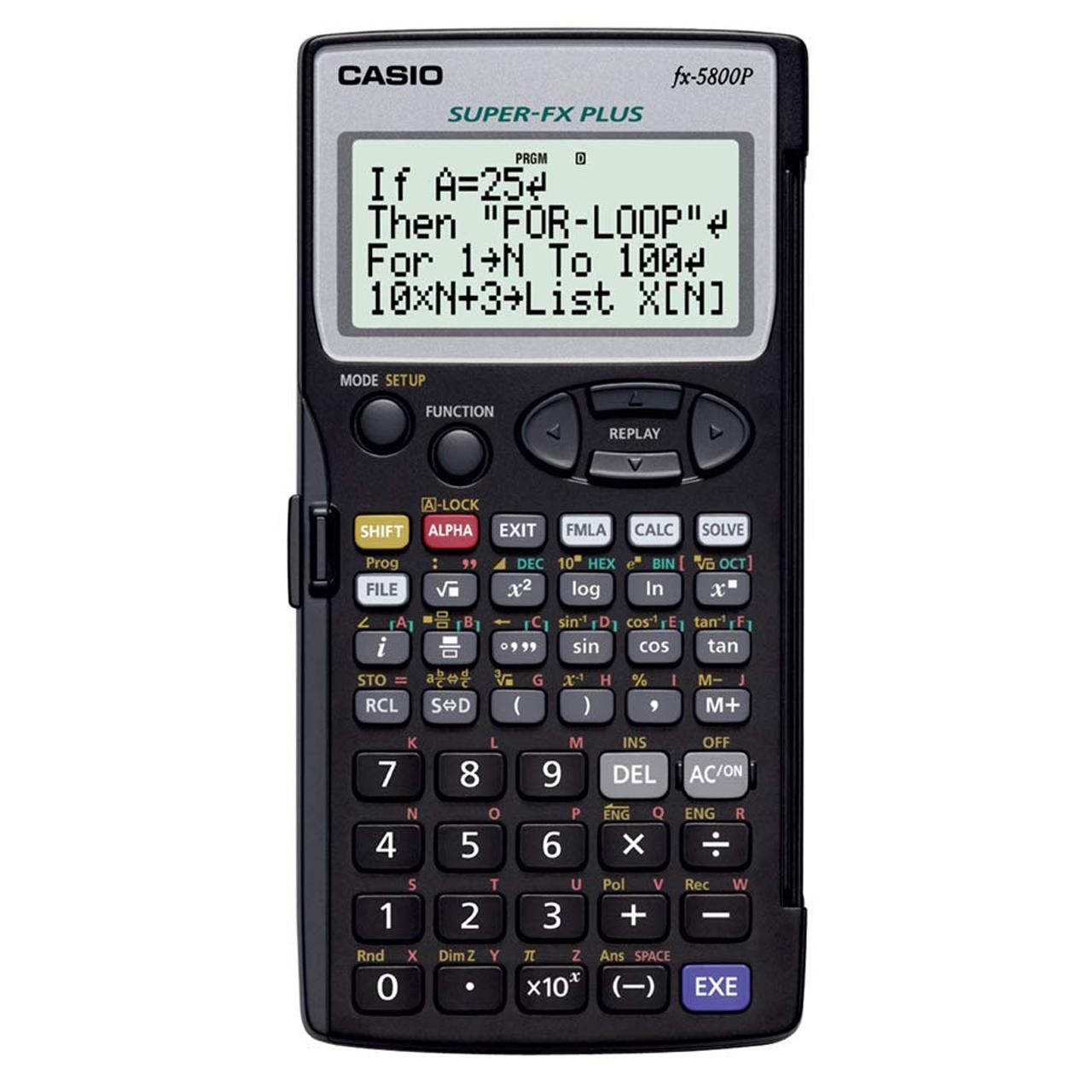 خرید ماشین حساب کاسیو FX-5800