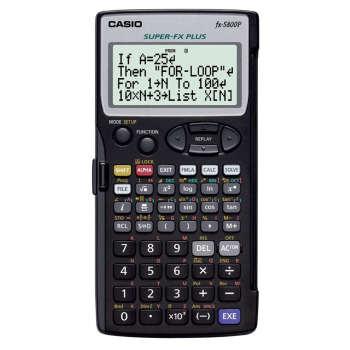 ماشین حساب کاسیو FX-5800