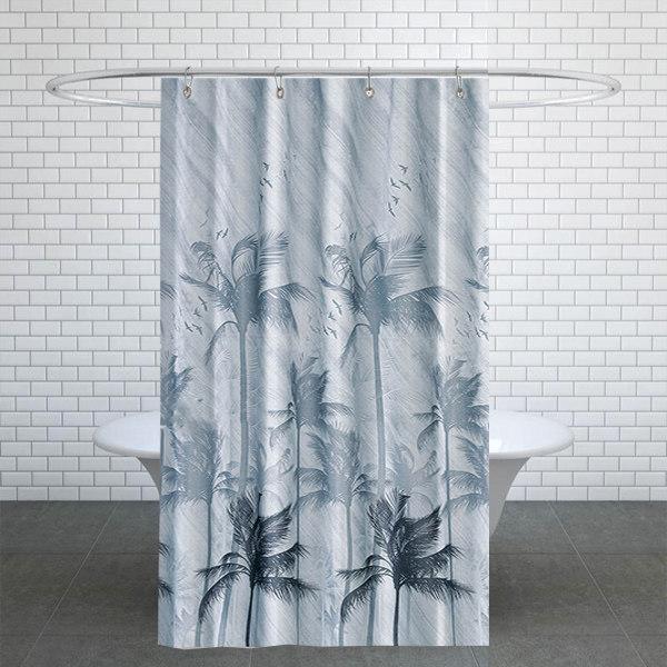 پرده حمام دلفین کد TOR-5104 سایز 200×180 سانتی متر