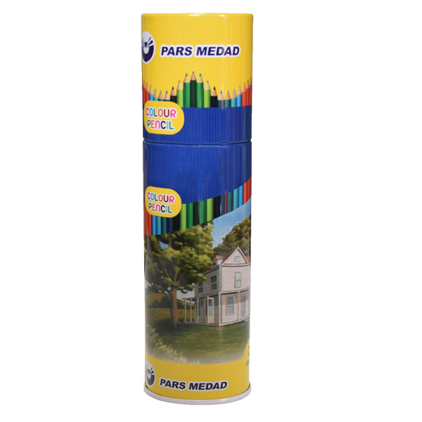 مداد رنگی 24 رنگ پارس مداد کد 04