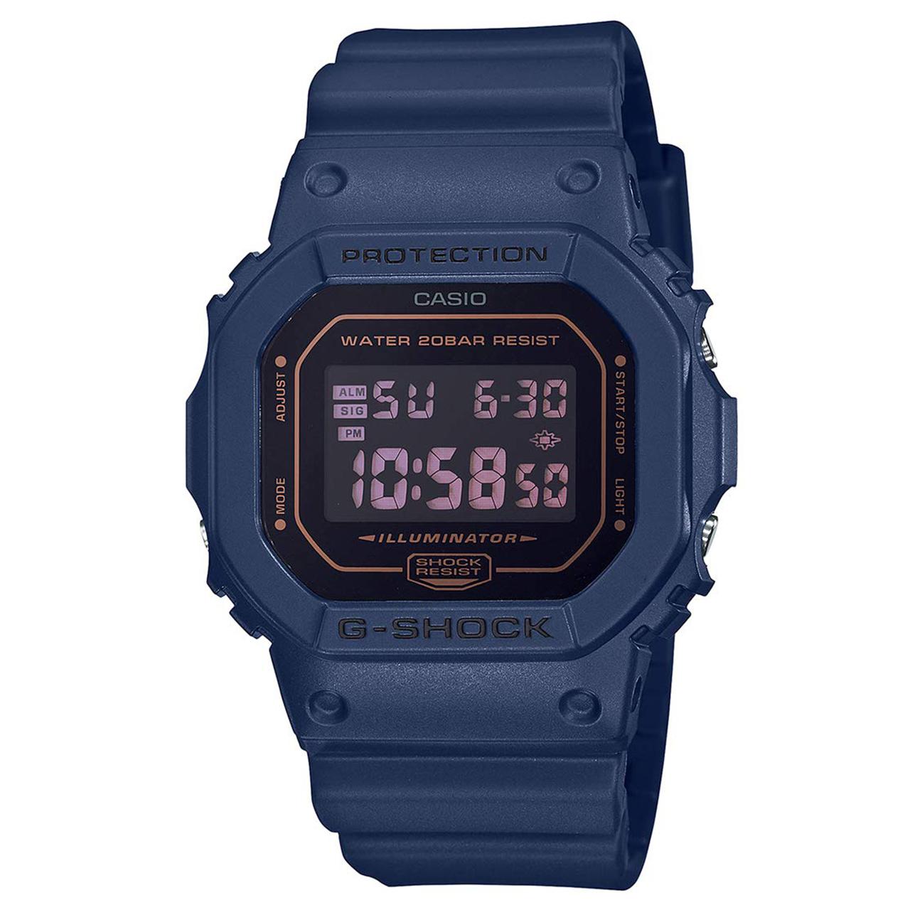 کد تخفیف                                      ساعت مچی دیجیتال مردانه کاسیو کد DW-5600BBM-2DR