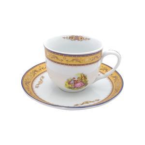 سرویس چای خوری 12 پارچه تقدیس طرح لیلی و مجنون کد 1100200