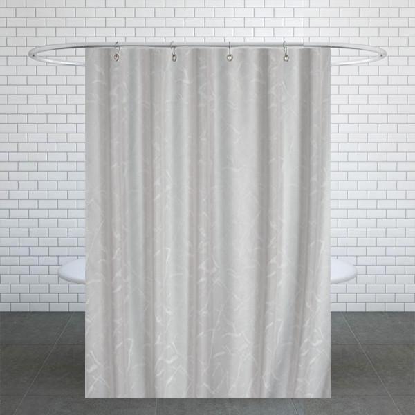 پرده حمام دلفین کد Ev-5026 سایز 200×180 سانتی متر