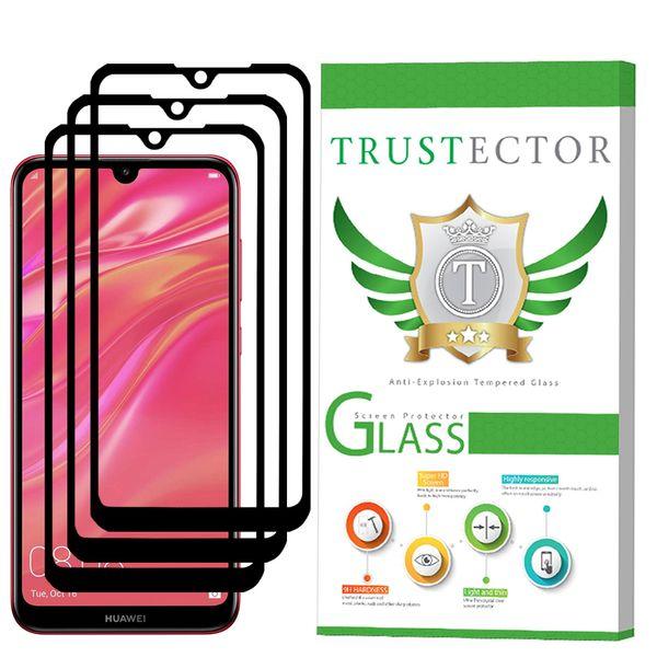 محافظ صفحه نمایش تراستکتور مدل GSS مناسب برای گوشی موبایل هوآوی Y7 Prime 2019 بسته 3 عددی