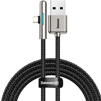 کابل تبدیل USB به USB-C باسئوس مدل LRIDESCENT LAMP طول 2 متر