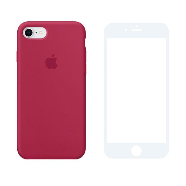 کاور مدل SLCN_03 مناسب برای گوشی موبایل اپل iPhone 7 / 8 به همراه محافظ صفحه نمایش