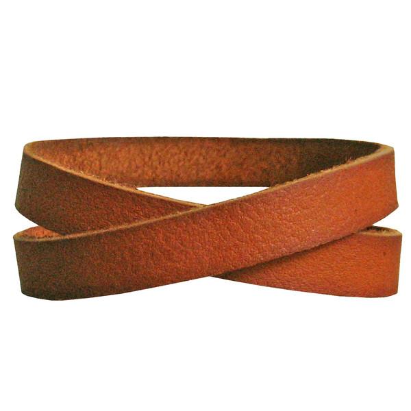 دستبند چرم دانوب مدل پرستو کد 003 سایز M