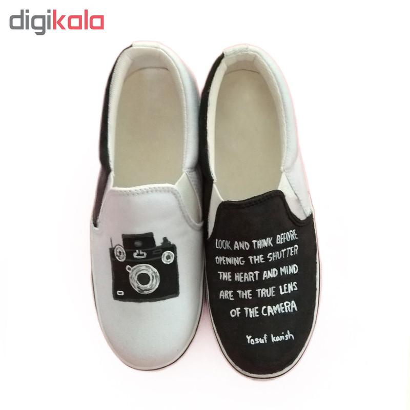 کفش روزمره زنانه دالاوین طرح دوربین کد V-2