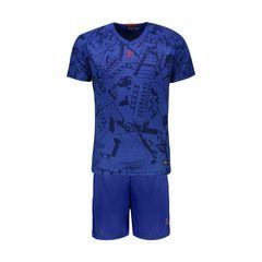 ست پیراهن و شورت ورزشی مردانه پانیل کد 1107BB