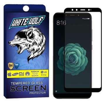 محافظ صفحه نمایش وایت ولف مدل WGF مناسب برای گوشی موبایل شیائومی A2