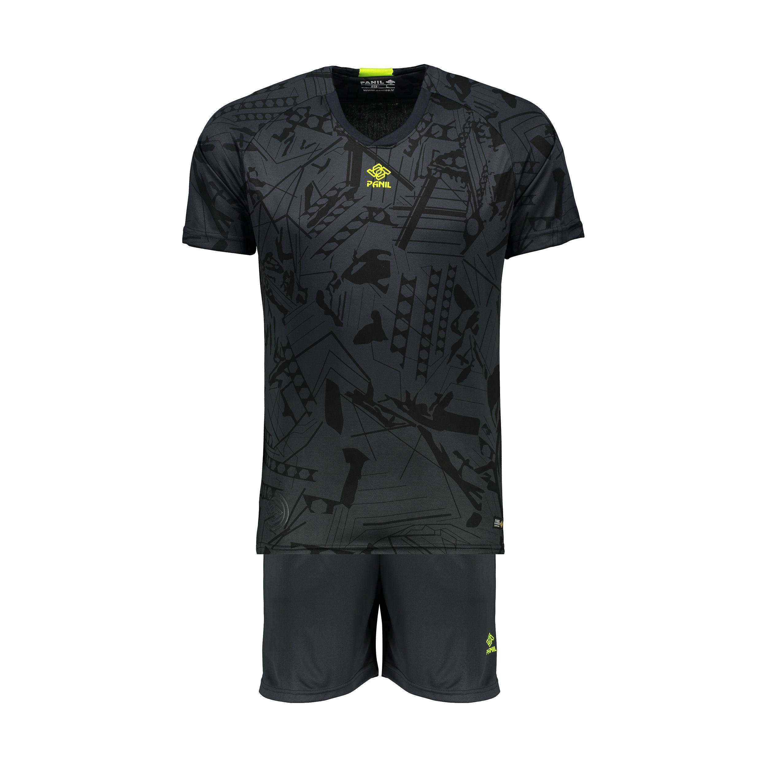 ست پیراهن و شورت ورزشی مردانه پانیل کد 1107GY