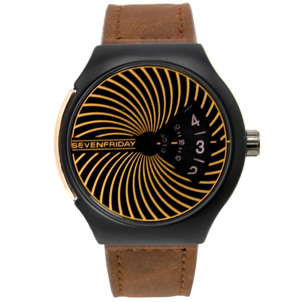 کد تخفیف                                      ساعت مچی عقربه ای مردانه مدل  Qah-SF-M2/01-9069M                     غیر اصل