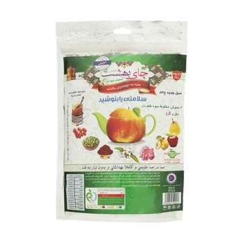 دمنوش  مخلوط میوه ای چای بهشت با طعم هل و گل مقدار 170 گرم
