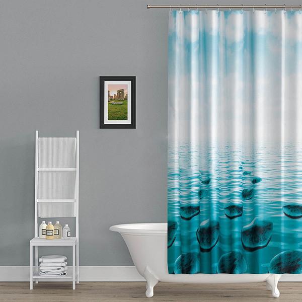 پرده حمام دلفین کد TOR-5075 سایز 200×180 سانتی متر