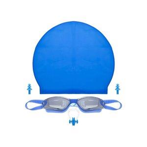 عینک شنا مدل B11 به همراه کلاه شنا، دماغ گیر و گوشی