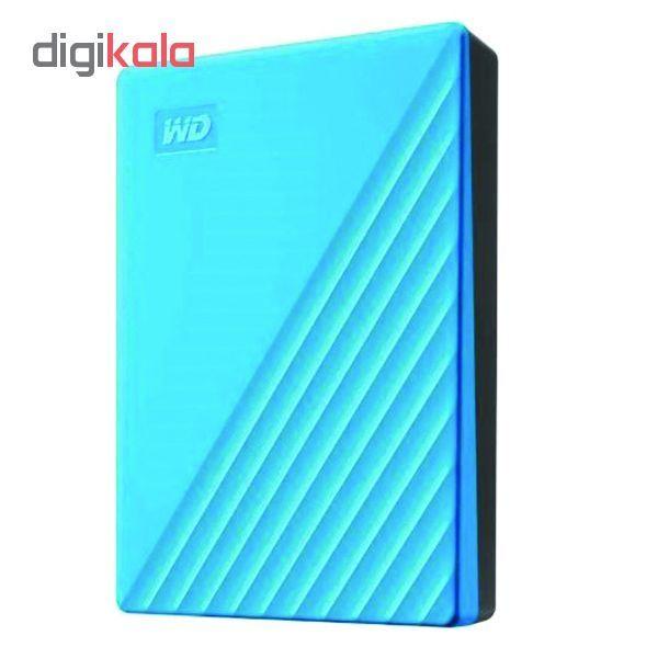 هارد اکسترنال وسترن دیجیتال مدل My Passport WDBYvg0010BBK-WESN ظرفیت 1 ترابایت main 1 6