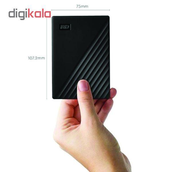 هارد اکسترنال وسترن دیجیتال مدل My Passport WDBYvg0010BBK-WESN ظرفیت 1 ترابایت main 1 7