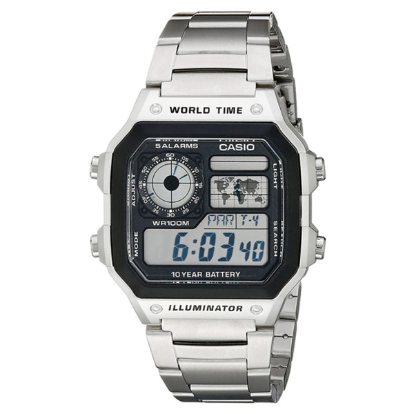 ساعت مچی دیجیتال مردانه کاسیو مدل AE-1200WHD
