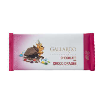 شکلات شیری با اسمارتیز گالاردو فرمند مقدار 65 گرم