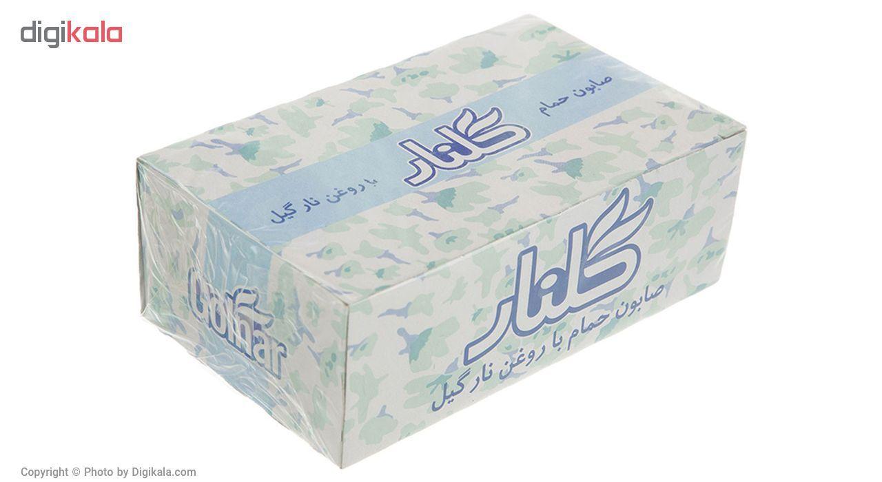 صابون گلنار مدل Coconut Oil بسته 6 عددی main 1 1
