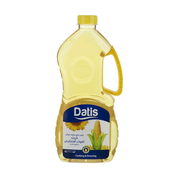 روغن مایع مخلوط گیاهی داتیس - 1.8 لیتر