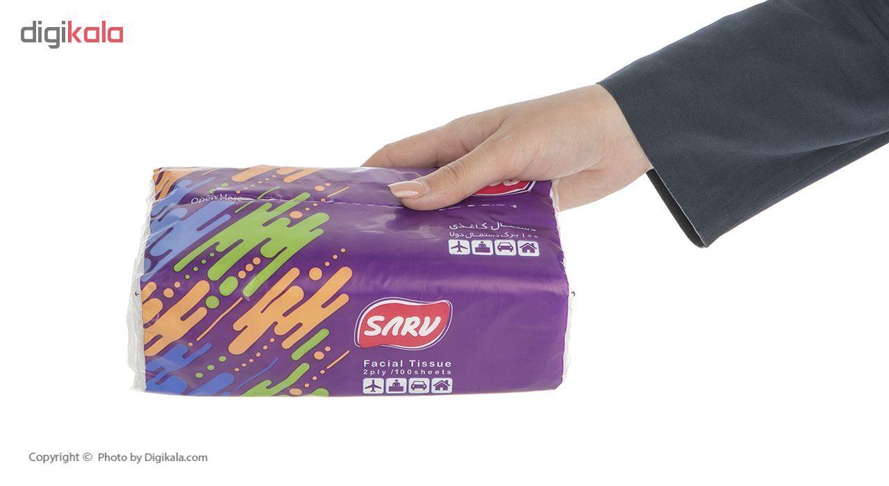 دستمال کاغذی سرومدل 2ply  بسته 8 عددی main 1 4