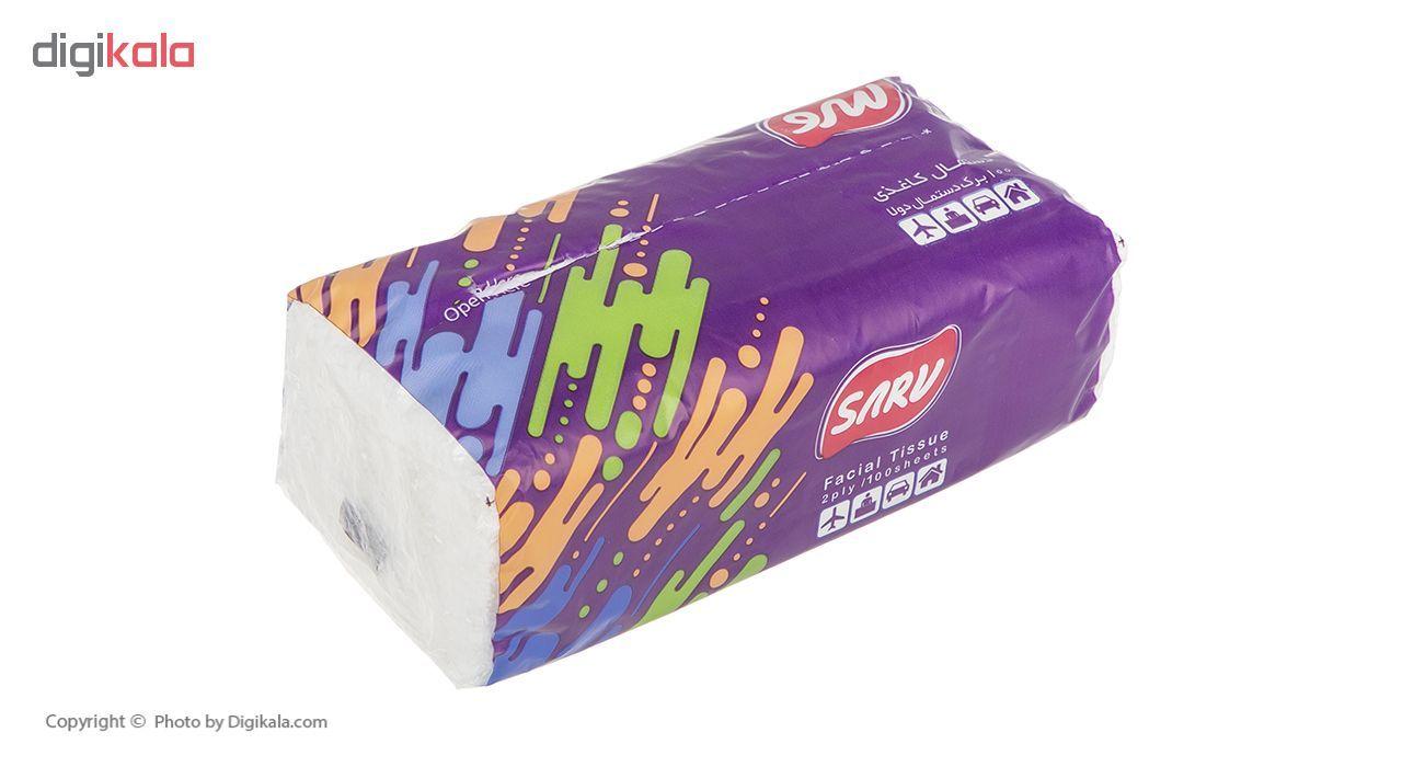 دستمال کاغذی سرومدل 2ply  بسته 8 عددی main 1 3