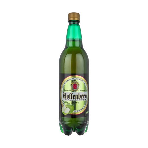 ماءالشعیر گازدار هوفنبرگ طعم سیب - 1 لیتر