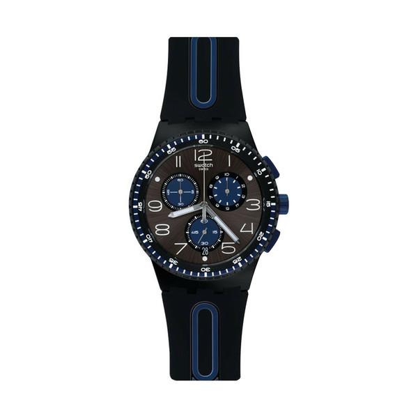 ساعت مچی عقربه ای مردانه سواچ مدل SUSB406
