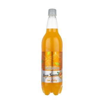 نوشیدنی گاز دار پرتقال موز هوفنبرگ - 1 لیتر