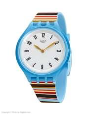 ساعت مچی عقربه ای زنانه سواچ مدل SVUL100 - چند رنگ - 2