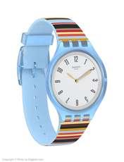ساعت مچی عقربه ای زنانه سواچ مدل SVUL100 - چند رنگ - 3