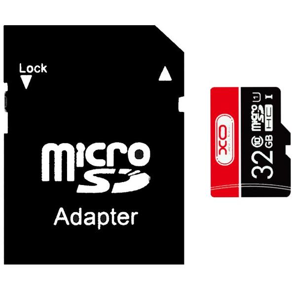 کارت حافظه microSDHC ایکس او مدل SPEED FLASH کلاس 10 استاندارد UHS-I U1 سرعت 80MBps ظرفیت 32 گیگابایت به همراه آداپتور SD
