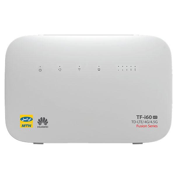 مودم TD-LTE ایرانسل مدل TF-i60 H1 به همراه 480 گیگابایت اینترنت 12 ماهه