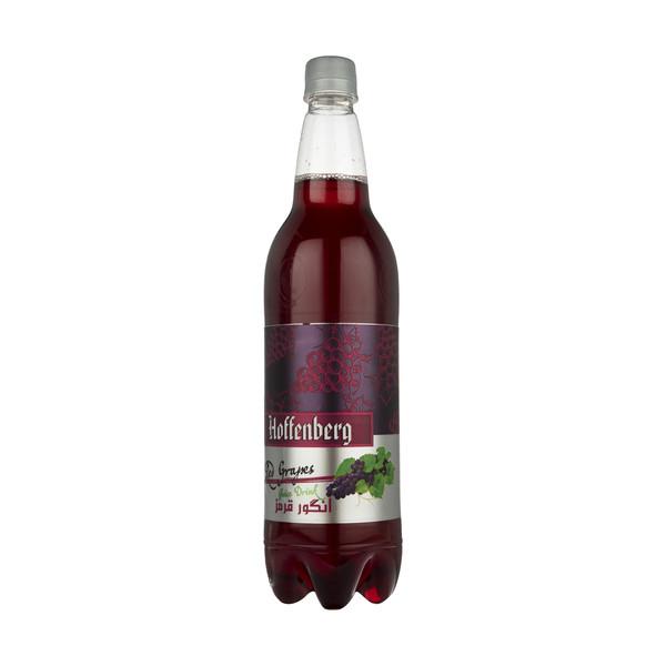 نوشیدنی گاز دار انگور قرمز هوفنبرگ - 1 لیتر