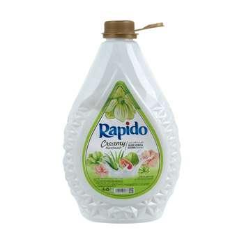 مایع دستشویی کرمی راپیدو مدل Aloevera And Guava مقدار 3000 گرم