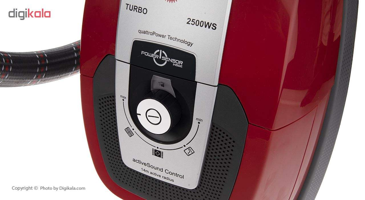 جاروبرقی پارس خزر مدل Turbo 2500WS main 1 6